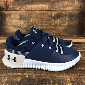 NEW Under Armour Ultimate Speed Blue Shoes Size 7